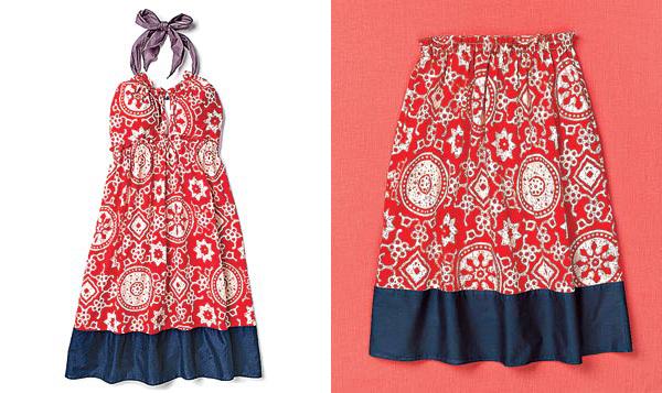 Как сделать из платья юбки